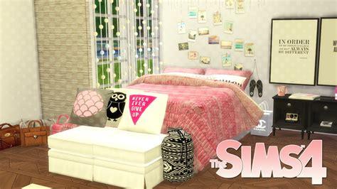 sims  speed build beauty guru inspired bedroom youtube