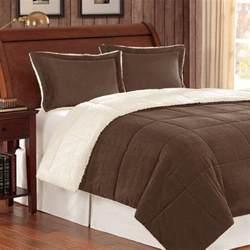 Corduroy Comforters Corduroy Berber Fleece Down Alternative 3 Piece Comforter