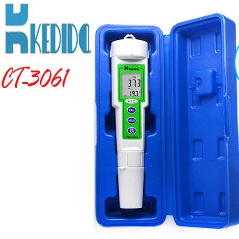 Murah Tds Meter Ct 3061 Murah 0 9999 Ppm Atc ct 3061 tds test pen digital tds meter range 0 to 9999 ppm lcd indicates both ppm temp 0 to