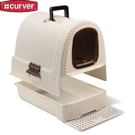 maison de toilette pour chat curver maison de toilette design curver couleur ivoire animal co
