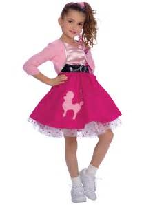 halloween poodle skirt costumes girls poodle skirt costume girls 50s poodle skirt costumes