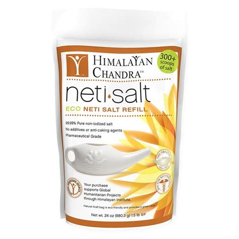 himalayan salt l allergies himalayan institute neti pot salt nasal irrigation