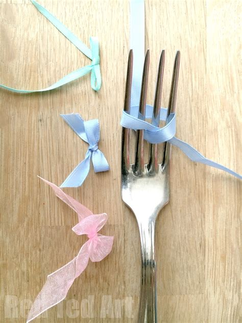 how to tie a christmas bow with ribbon how to tie a ribbon bow using a fork and easy and oh so satisfying ted s