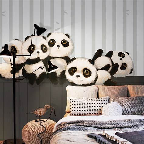 panda wallpaper for bedroom popular panda wallpaper buy cheap panda wallpaper lots from china panda wallpaper