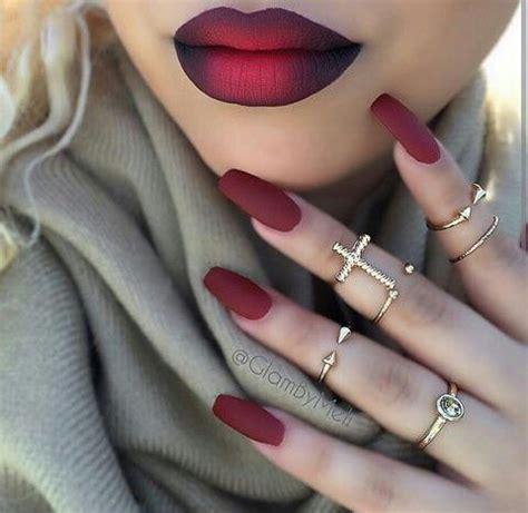 short red coffin nails prettyprettyfingers pinterest 1000 bilder zu nails auf pinterest matte decklacke