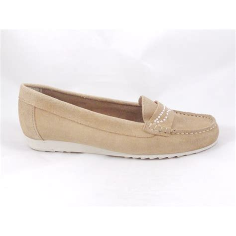 flat suede shoes vanilla moon beige suede slip on flat loafer shoe