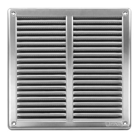 metal vent stainless steel air vent grille covers with fly screen