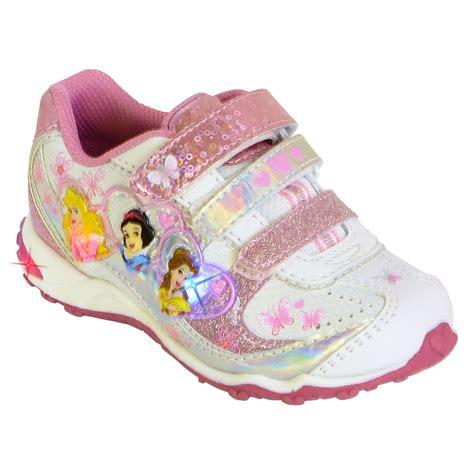 disney light up shoes disney toddler s princess light up athletic shoe