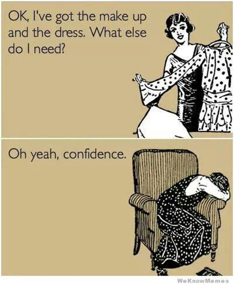 Make An Ecard Meme - make up dress confidence turning fashion inside out