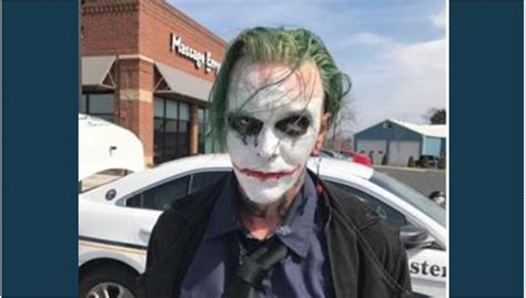 Winchester Va Arrest Records Virginia Arrest Dressed As The Joker Carrying Sword Gephardt Daily