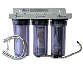 Fluid Faucet Uc 3k Under Counter Water Filtration System Cuzn Water