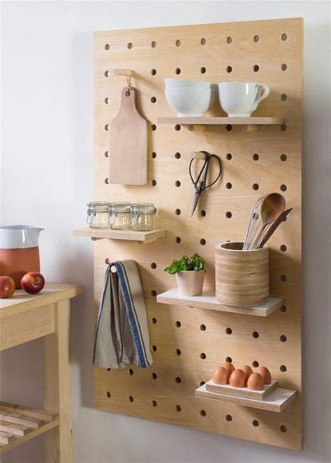peg it all pegboards by kreisdesign design milk peg it all pegboard wall mounted storage panel in birch