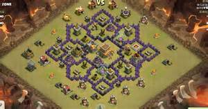 Coc 7 level base hd images new style for 2016 2017