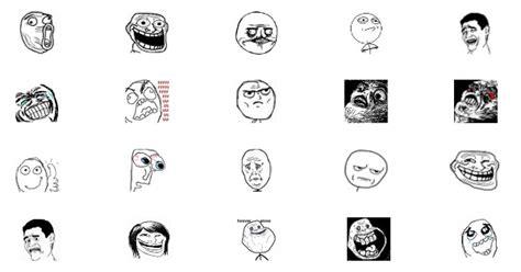 Meme Emoticons - emoticons para face dos memes image memes at relatably com