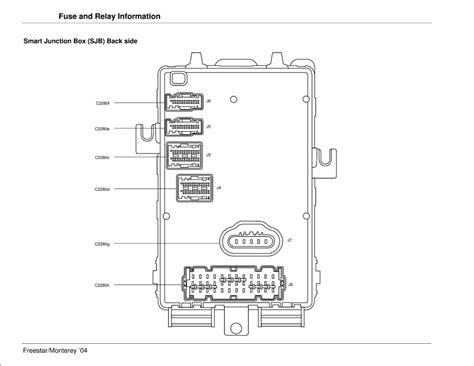 wiring diagram 2004 ford freestar se wiring get free