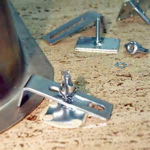 undermount studs and for sink mounting