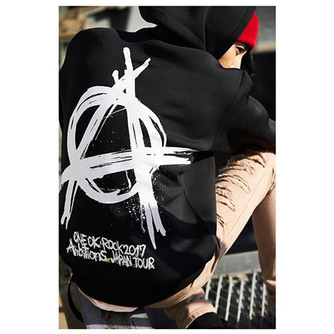 one ok rock hoodie jacket 2017 ambitions japan tour