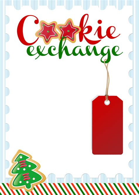 Cookie Exchange Recipe Card Template by Kentucky Homemaker What Is A Cookie I Will Give You