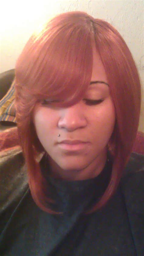 sew in weave with side part newhairstylesformen2014