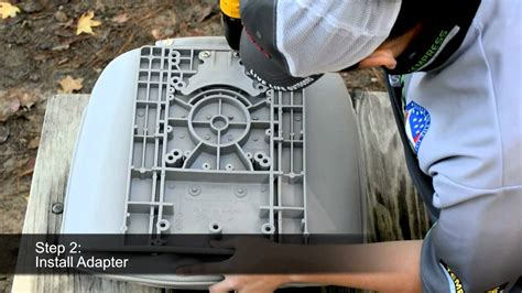 how to install back to back boat seats tempress quick disconnect kit youtube