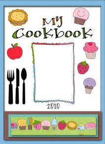 cookbook cover template free free printable cookbook cover templates search
