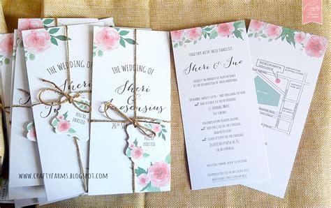wedding invitation card design kl wedding card malaysia crafty farms handmade