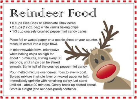 reindeer food craft project the world s catalog of ideas