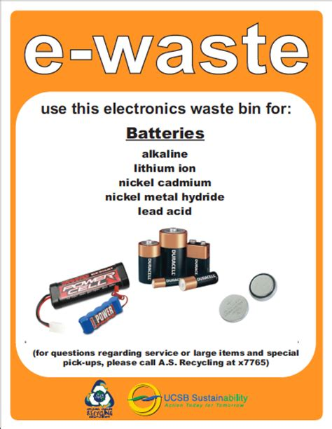e waste campus resources as recycling