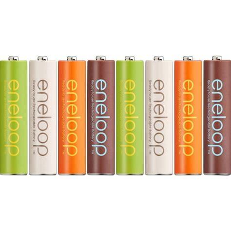 aaa battery rechargeable nimh panasonic eneloop organic