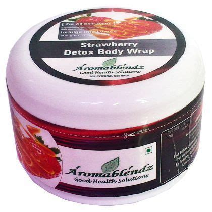 Types Of Detox Wraps by Aromablendz Wraps Aromablendz Hydrating Wrap