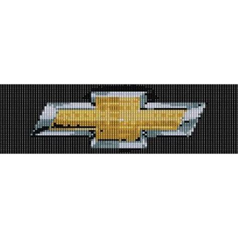 chevy bow tie peyote beading pattern for cuff bracelet