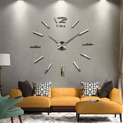 oversized home decor new home decor wall clock european oversized living room modern minimalist fashion diy wall art