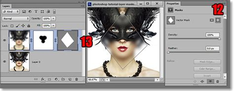 tutorial photoshop vector mask create a vector mask