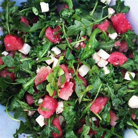 barefoot contessa arugula salad check out arugula watermelon and feta salad it s so easy