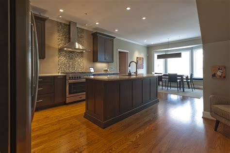 Handcrafted Homes Inc - transitional kitchen handcrafted homes inc