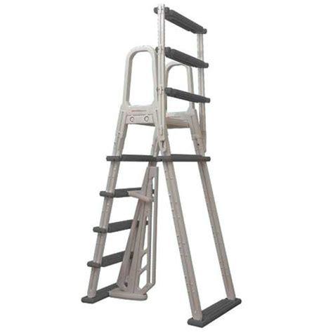 heavy duty  frame flip  ladder   ground pools
