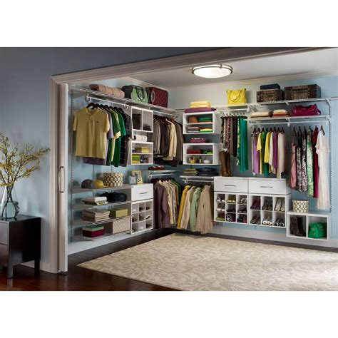 large storage ideas for the closet roselawnlutheran - Large Closet Organizers