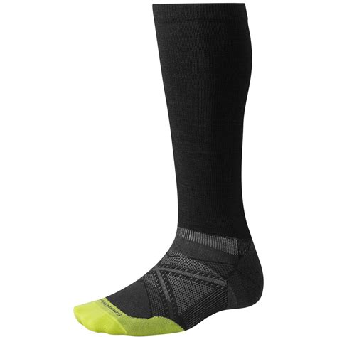 smartwool light the calf sock smartwool phd run graduated compression ultralight socks