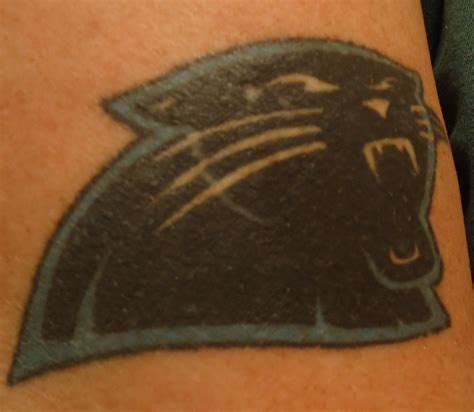 carolina panthers tattoo 13 best images about carolina panthers tattoos on