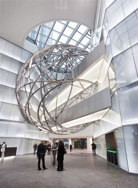 interior design frankfurt deutsche bank steel sphere in frankfurt idesignarch