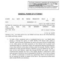 free axis bank power of attorney india pdf template