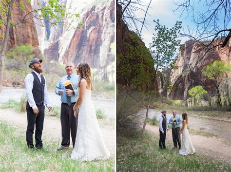 Wedding Zion National Park by Intimate Zion National Park Wedding And Bob S Zion