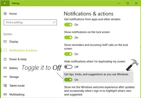 windows 10 tip how to turn off bing web search in start how to disable tips tricks and suggestions in windows 10