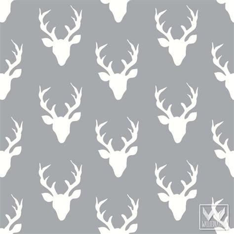 deer pattern iphone wallpaper bonnie christine removable wallpaper wall decals