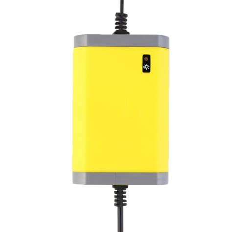 Mg Portable Motorcycle Car Battery Charger 12v 2a portable motorcrycle car battery charger 12v 2a yellow