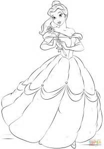 Belle coloring pages belle christmas coloring pages belle coloring