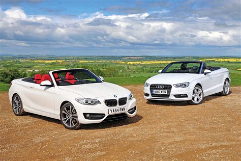 bmw  series convertible  audi  cabriolet pictures auto express