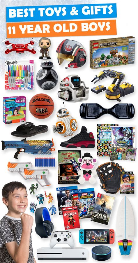 ideas for 10 year old boy gift 2018 gifts for 11 year boys 2018