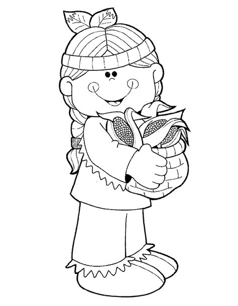 coloring page indian coloring pages 9