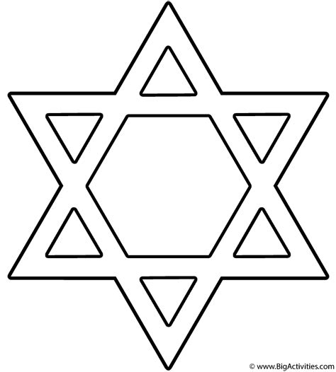 happy star coloring page star of david with happy hanukkah coloring page hanukkah